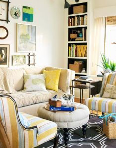 Playful patterns make this small living room an inviting space more smart ideas for also spaces rooms and rh pinterest