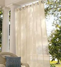 outdoor curtains | Deck and Patio Ideas | Pinterest ...