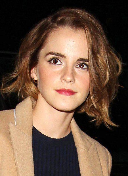 Bob Trendfrisur Der Stars Leichte Wellen Emma Watson Und Pixie Cut