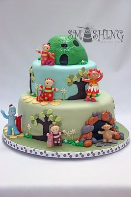 Upsy Daisy In The Night Garden Birthday Party Ideas Gardens