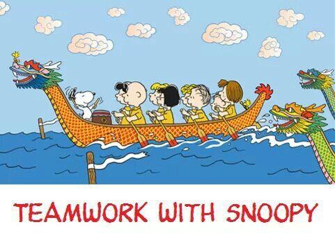 Teamwork Snoopy Art Pinterest Teamwork And Snoopy