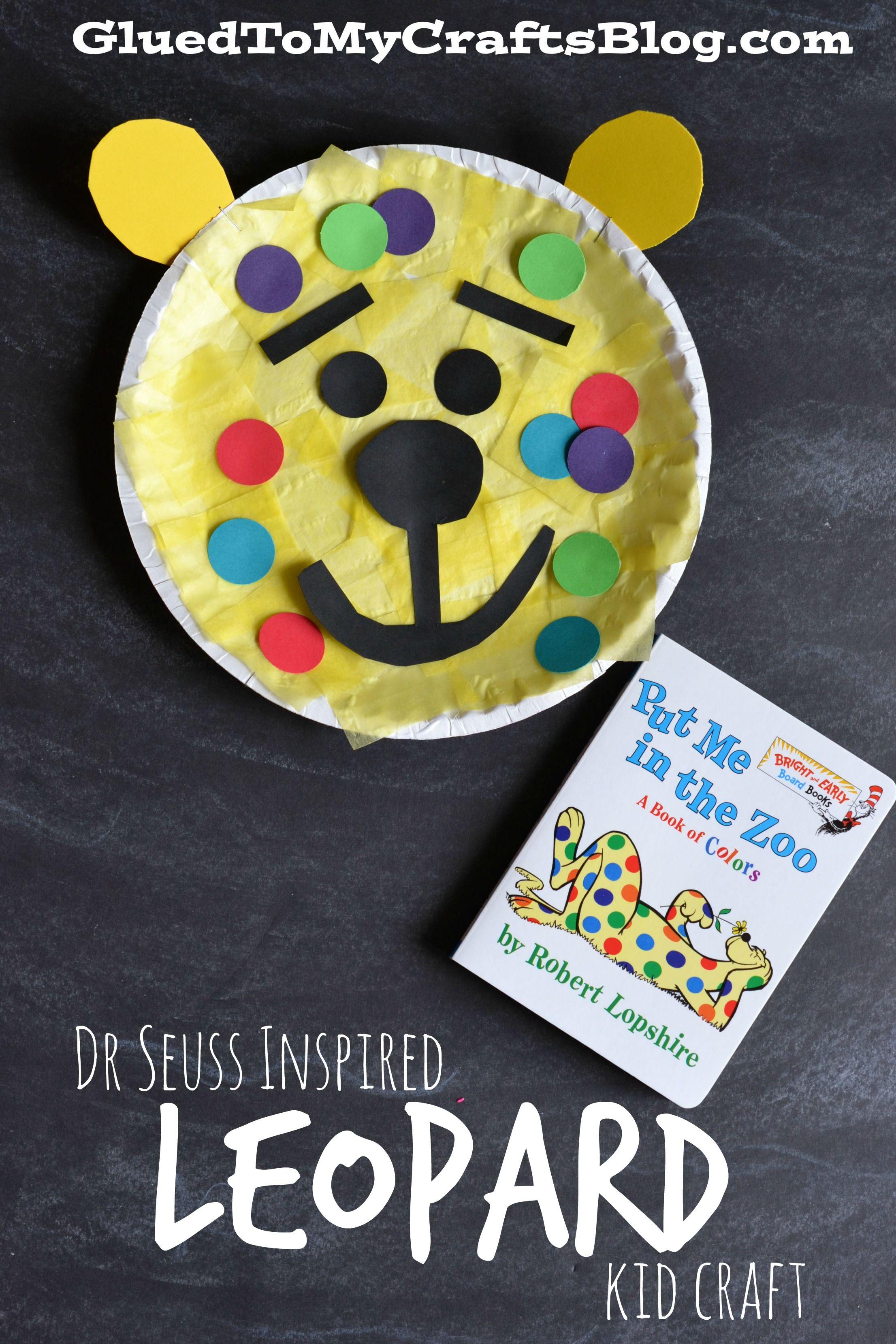 Dr Seuss Inspired Leopard Kid Craft