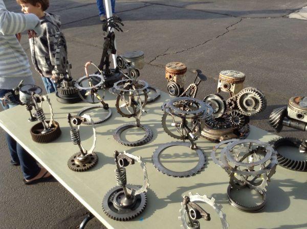 Lander Wy 2013 Fly-in & Car-show Awards Metal Art