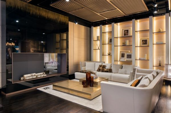 Luxury Living Fendi Casa Showroom