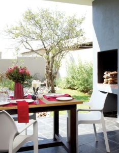 Simple beautiful braai area also fun spaces in the house pinterest rh