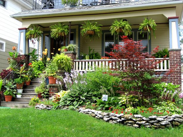 Front Porch Ideas From Rate My Space Gardens Front Porches And
