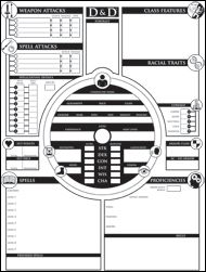 [5E] Looking for alternate character sheets. : DnD