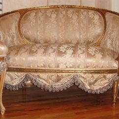Antique French Sofa Ebay Cedric Details About Settee Loveseat Circa