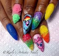 My Little Pony Nail Art - Nail Art Gallery | Nails ...