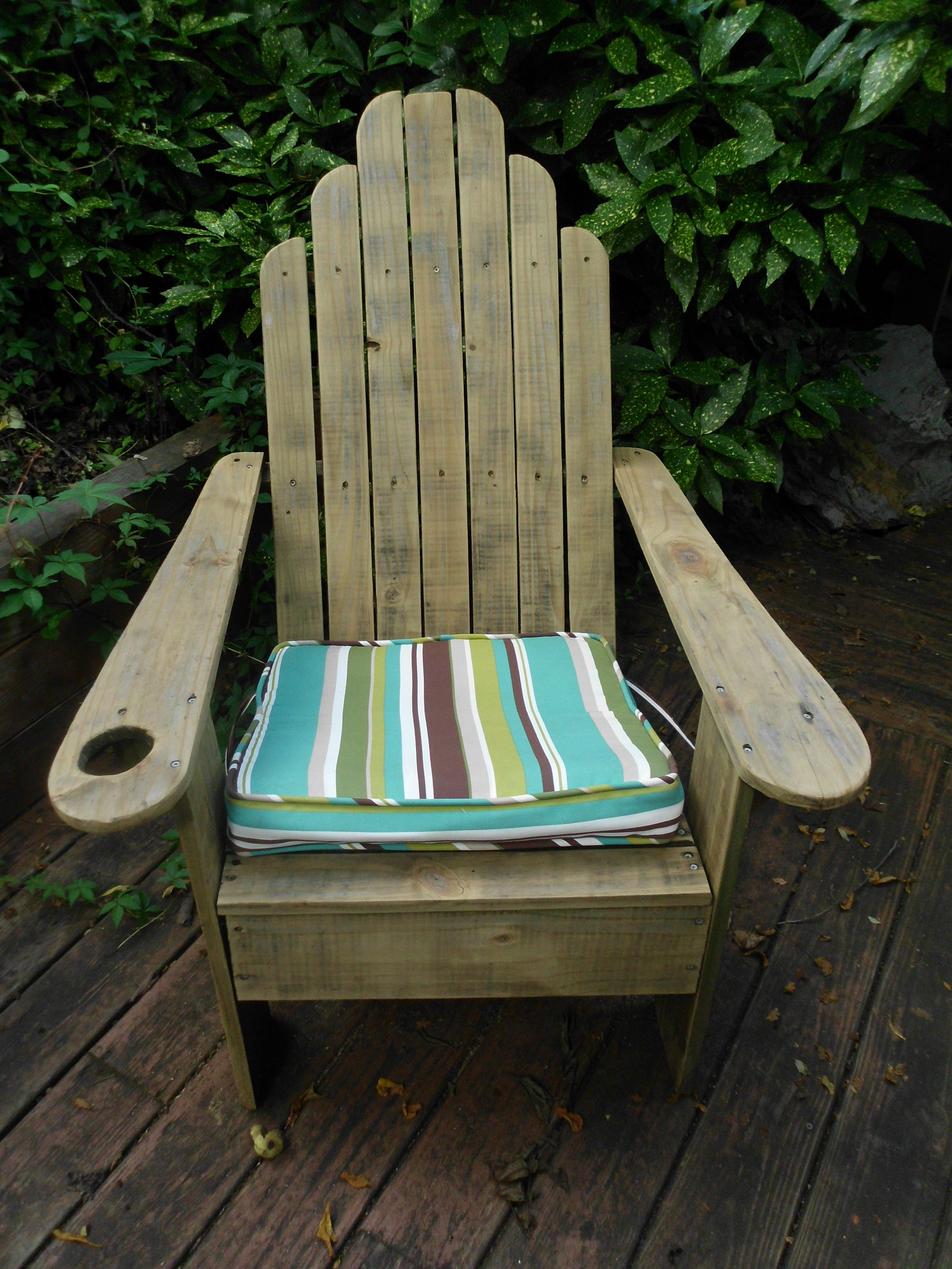 Composite Chairs Classic Adirondack Chair Can Be Made Out Of Wood Or