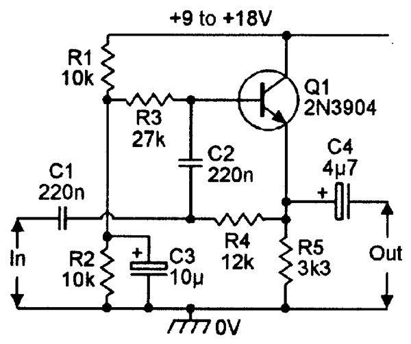 pin filter circuit low hight band pass on pinterest