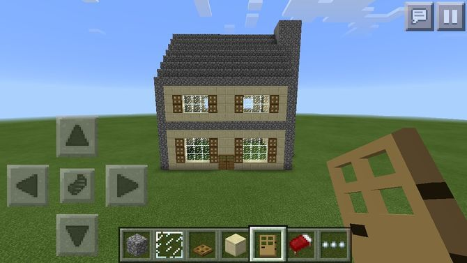 Minecraft Pe Garden Ideas minecraft pe houses ideas