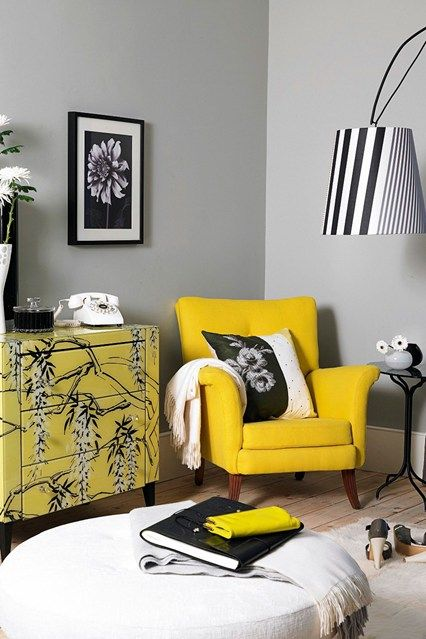 Room yellow also sunny side up white living rooms black and ideas rh pinterest
