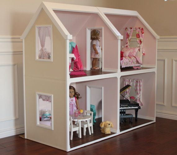 American Girl Doll Bedroom Tutorial