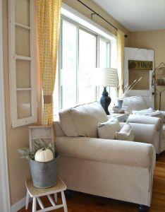 beautiful farmhouse living room decorating ideas also rh pinterest