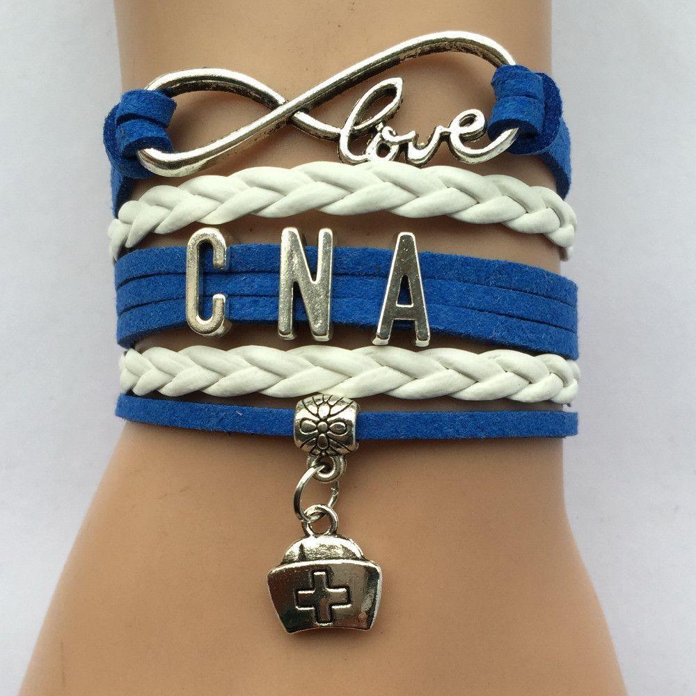 Cna nurse charm bracelet nursing students nurses week