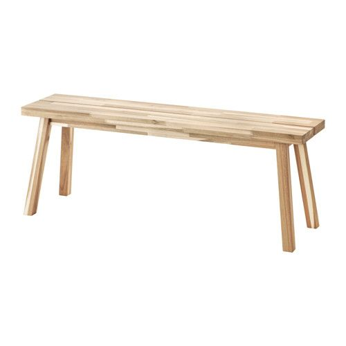 SKOGSTA Bench acacia  Solid wood Bench and Woods