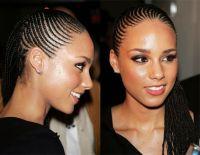 Alicia Keys Cornrow Braid Hairstyles | HAIR | Pinterest ...