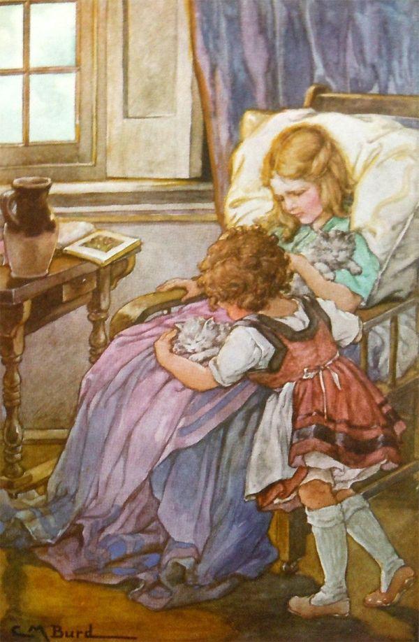 1924 Heidi Johanna Spyri - Illustrated Clara . Burd
