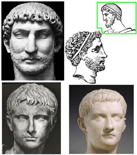 Ancient Roman Hairstyles For Men Google Search Pompeii