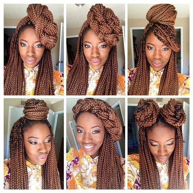 50 Box Braids Hairstyles That Turn Heads Tresses Afro Tresses