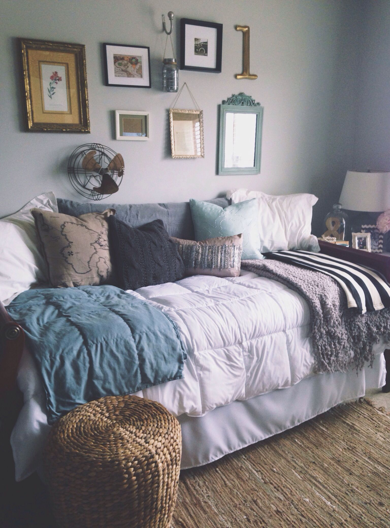 I Love These Colors For Bedroom It S Cozy Grown Up