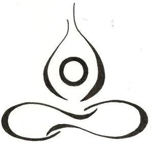 yoga lotus drawing infinity tattoo tattoos pose custom drawings meditation henna flower stencils holistic healing easy spiritual symbols am designs