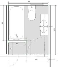 Bathroom Design, Small Bathroom Plan: Create Your Bathroom ...