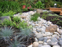 Pea Gravel Garden Front Yard | Gravel & stone types for a ...