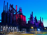 Former Bethlehem Steel blast furnaces, preserved by new