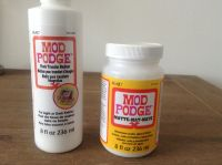 Mod Podge matte vs Mod Podge Photo Transfer Medium I'm ...