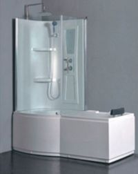 Whirlpool Tub & Shower Combination