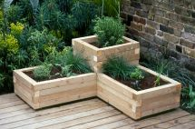 Creating Wooden Planter Pressure Treated Timber