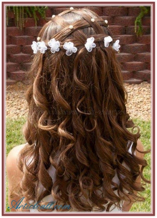 Flower Girl Hairstyles Google Search Flower Girl's Hairstyle