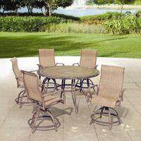 Backyard Creations 6-Piece Avondale Balcony Dining ...