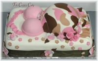 camouflage baby shower   Pink Camo - Cake Decorating ...