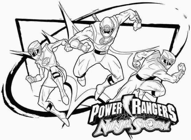 Power Rangers Dino Charge Energems Coloring Pages