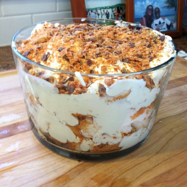 Angle Food Cake Butterfinger