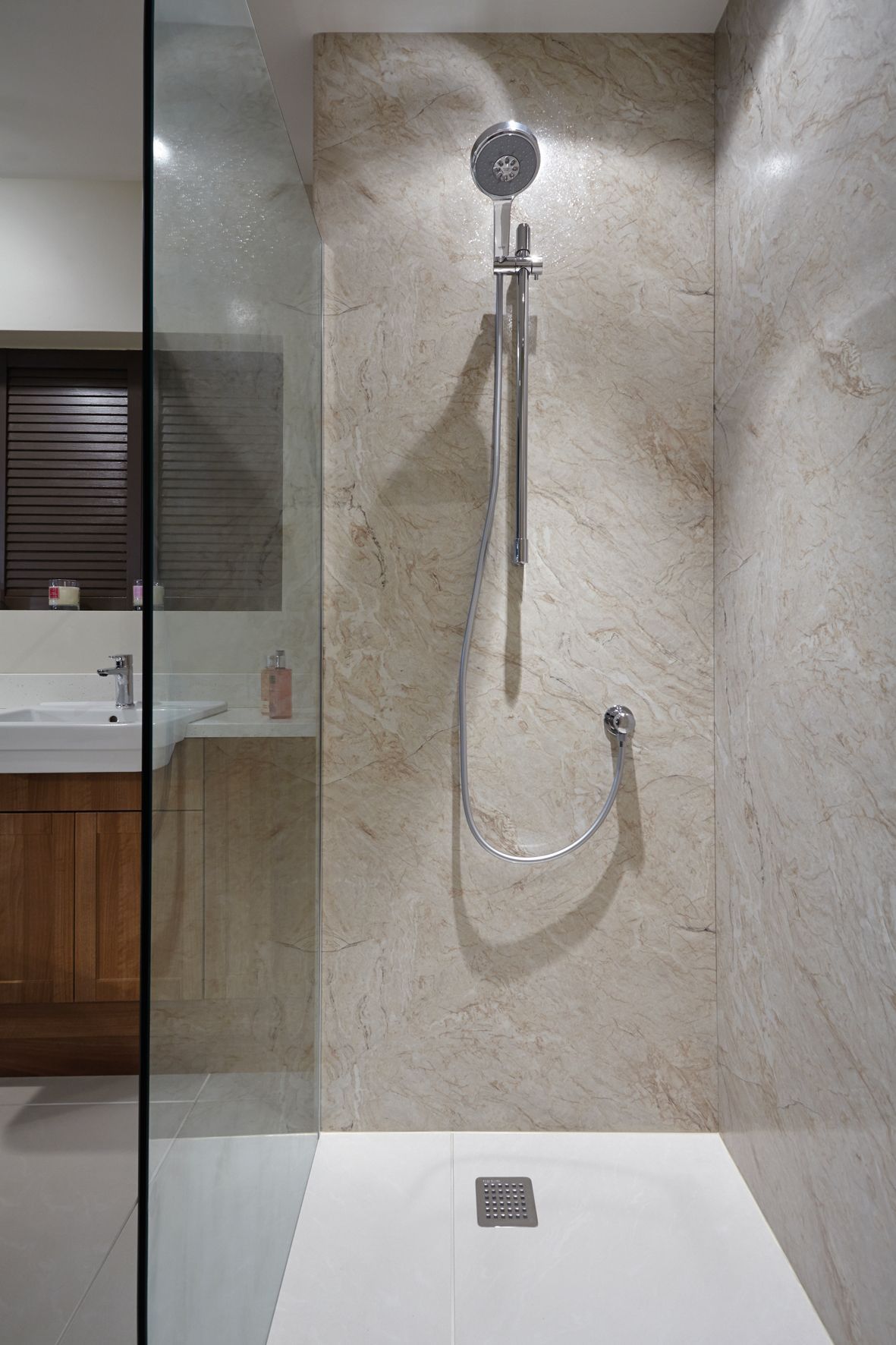 Nuance laminate panelling is an ideal alternative to