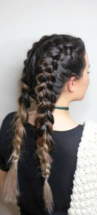 Dutch Braids For Beginners | French braid pigtails ...