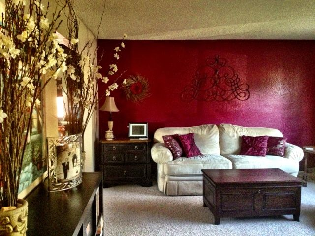 Designs by jeannine living room decor red accent wall also crafts rh pinterest