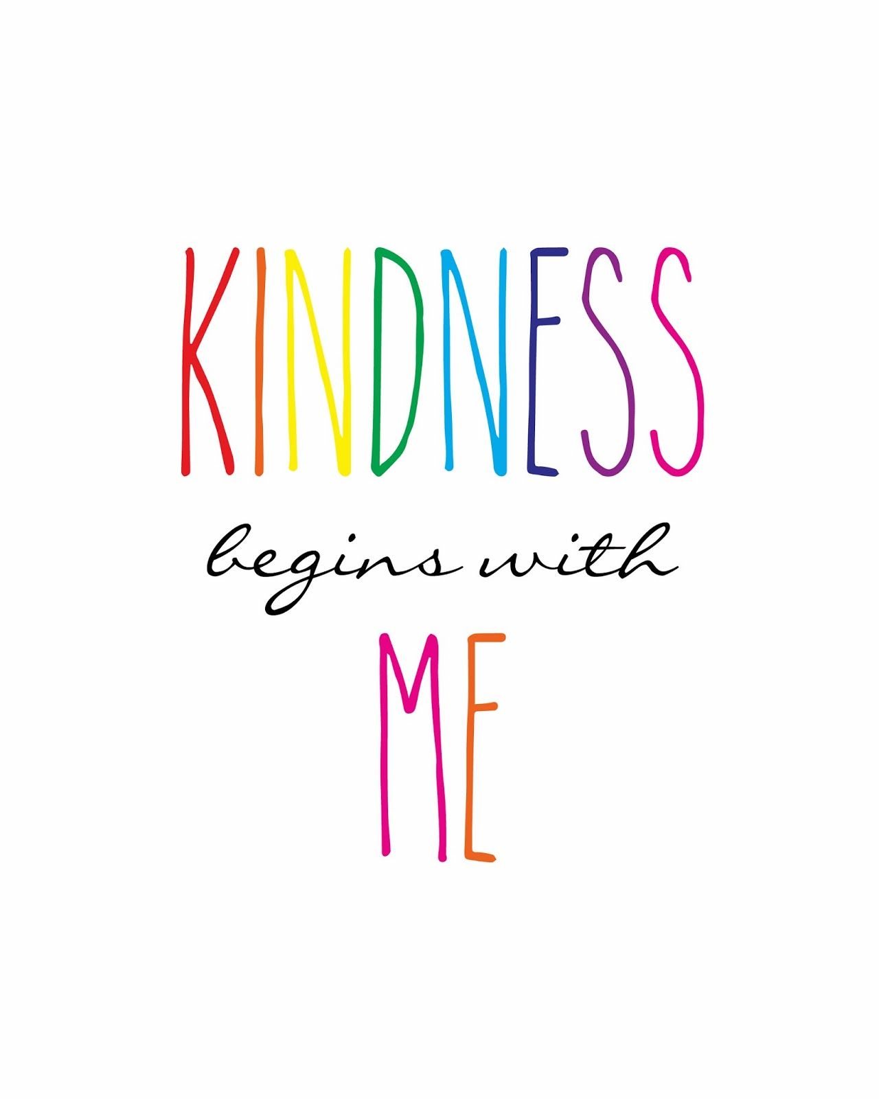 One Little Word Kindness