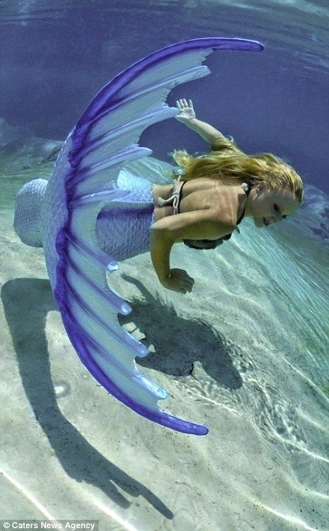 Real life 'mermaid' can hold her breath underwater for ...