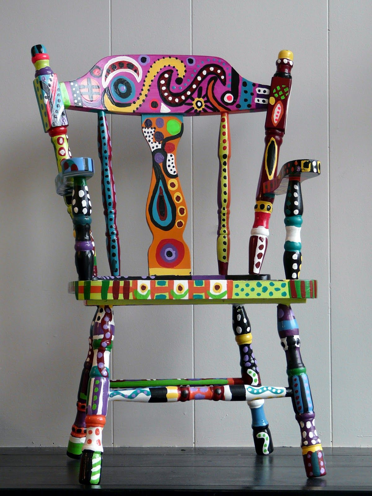 funky wooden chairs ergonomic chair without wheels omg i am doing this it looks like vera bradley