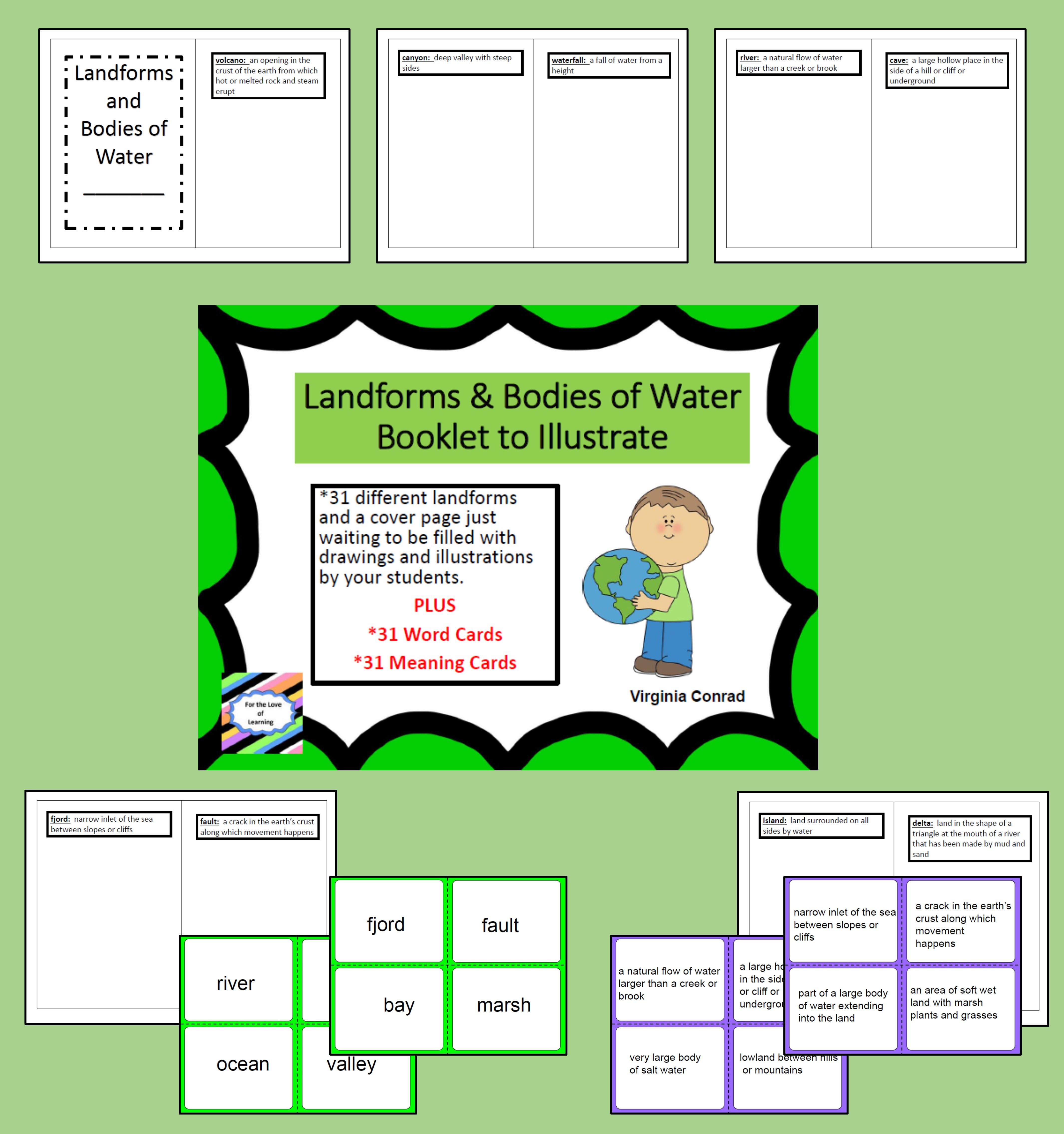 31 Landforms And Bo S Of Water Are The Focus Of This