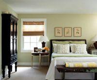 bedroom green walls | Light green bedroom. (Wall color ...