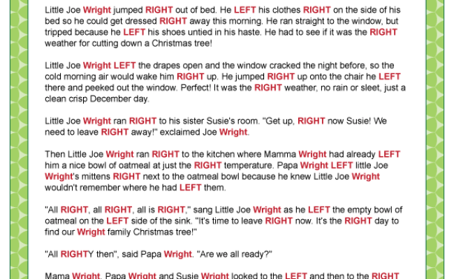 Right Left Little Joe Wright Sounds Fun For Sharing