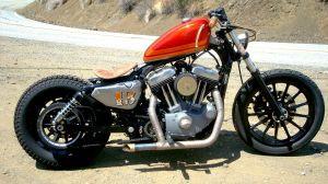 Harley Davidson Sportster Bobber Build   hobbiesxstyle