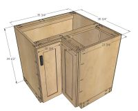 "Ana White | Build a 36"" Corner Base Easy Reach Kitchen ..."