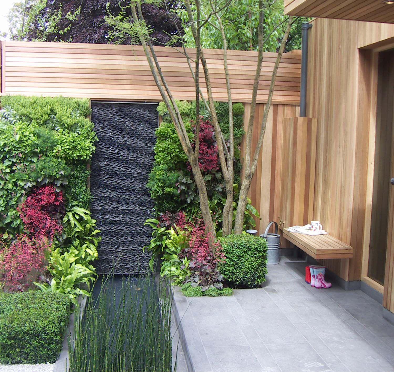 Wall Garden Ideas Garden Design Ideas